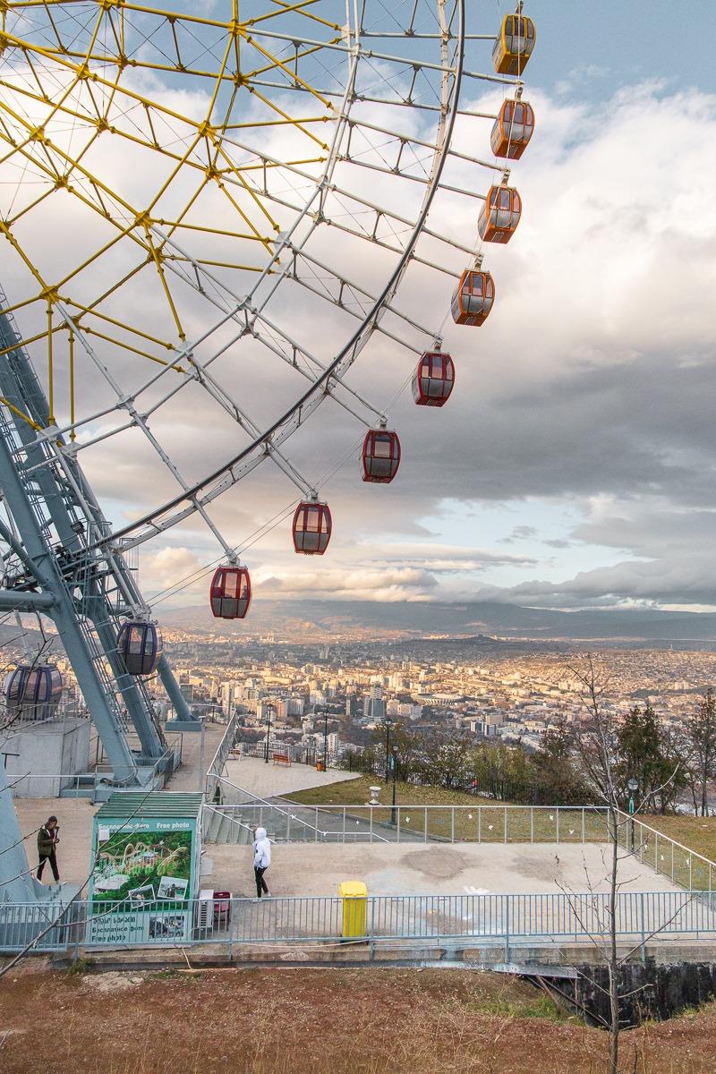 Ferris Wheel at Mtatsminda Park.
